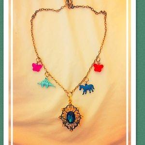 Jewelry - Art Deco charm necklace